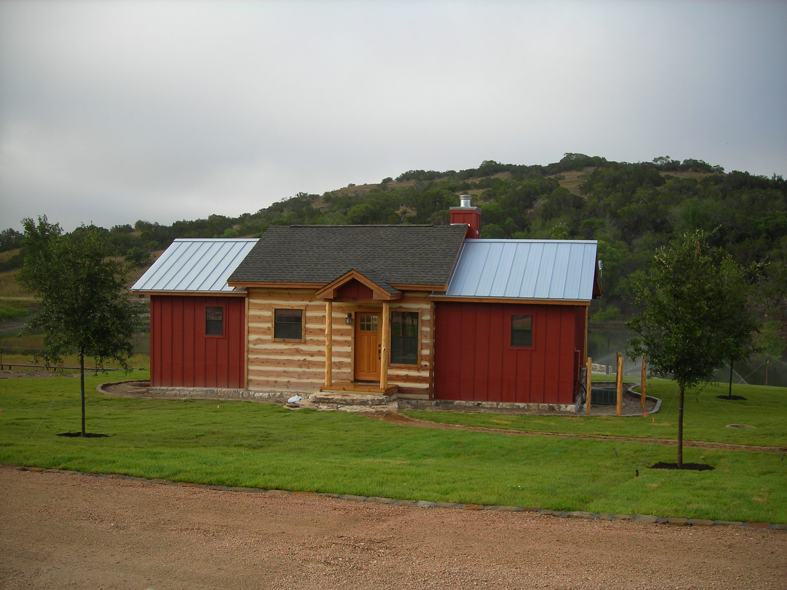 Rex Bohls Cabin Red 2008